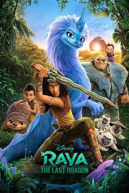خرید فیلم Raya and the Last Dragon 2021
