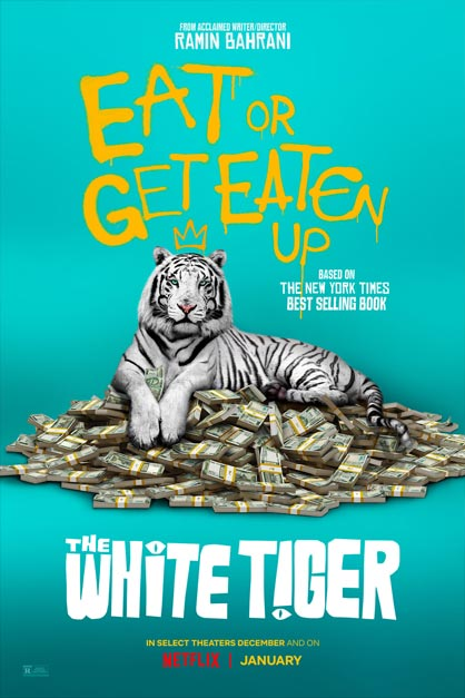 خرید فیلم The White Tiger 2021
