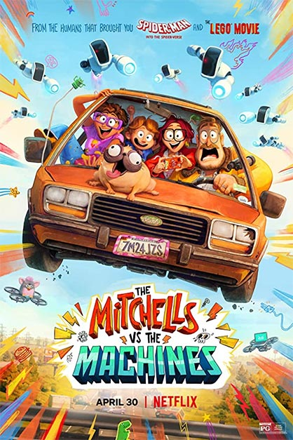 خرید فیلم The Mitchells vs the Machines 2021